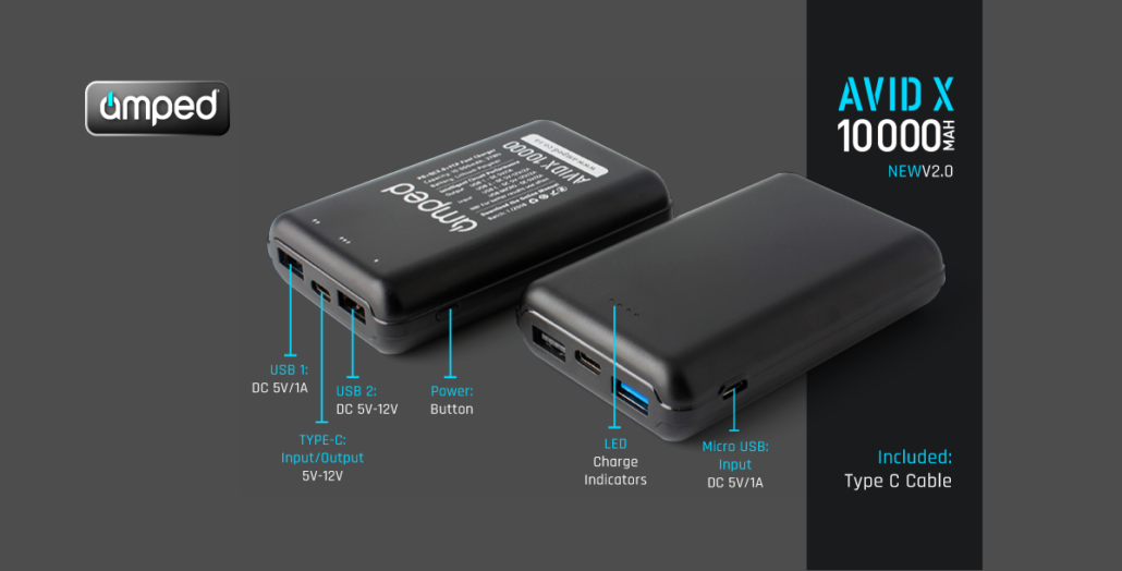 Amped Portable Charger | Take Charge  Get Amped